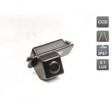 CCD штатная камера заднего вида с динамической разметкой AVIS Electronics AVS326CPR (#016) для FORD MONDEO (2007-...) / FIESTA VI / FOCUS II HATCHBACK / S-MAX / KUGA