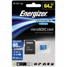 ENERGIZER 64GB CLASS10 UHS-I U3 ULTIMATE 90mb/s